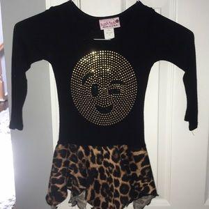 Emoji wink dress
